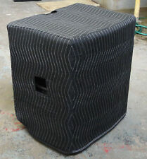 YORKVILLE LS801P Premium Padded Black Speaker COVERS (2) Fits CARPETED Cabinets!