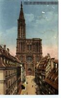 STRASBOURG Elsass France Frankreich Carte Postale 1944 alte Postkarte