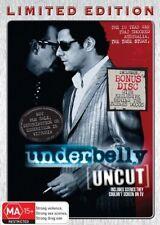 Underbelly [Uncut] {Steel Case} (DVD 5-Disc Set) SEASON 1 LIKE NEW CONDITION