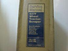 Caterpillar 627F Wheel Tractor-Scraper Service Shop Repair Manual BINDER CAT x