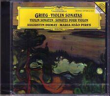 Augustin DUMAY & Maria Joao Pires: Grieg Violin Sonata No. 1 2 3 violinsonaten CD