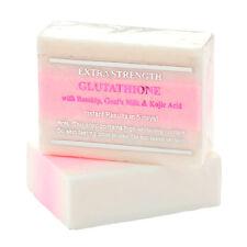 5 Bars Premium Extra Strength Whitening Soap w/Glutathione,Goat's milk,Rosehip
