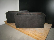 rechteckige pflanzk bel aus fiberglas g nstig kaufen ebay. Black Bedroom Furniture Sets. Home Design Ideas