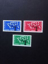 cyprus 1963 europa Set SG 224/6 Mounted Mint