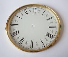 Brass Clock Bezel and Glass 180mm Roman Dial