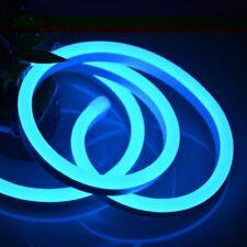 STRISCIA LED 2 MT METRI LUCE BLU FLESSIBILE TUBO DECORATIVO NEON IP65 12V SC0