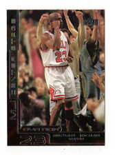 Michael Jordan NBA 1999-00 UPPER Deck Ovation MJ al centro della scena (Chicago Bulls)