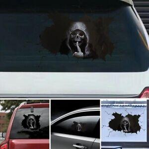 Skull Auto Aufkleber Totenkopf Sticker Punisher Schädel Autosticker Auto Tuning
