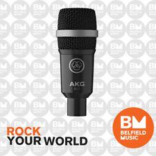 AKG D40 Dynamic Instrument Microphone Drum Mic D-40 - -belfield Music