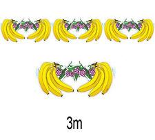Banana Frutta Carta Bandierine Ghirlanda Tropicale Hawaiano Festa Decorazione 2215f