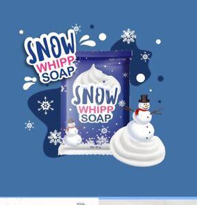 Gluta Frozen Snow Whipp Soap Bar Whitening Skin Anti Aging Collagen 80g Auseller