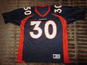 Terrell Davis #30 Denver Broncos NFL Super Bowl Jersey 48 LG L