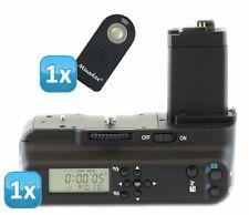MEIKE Impugnatura batteria con LCD Timer Canon EOS 450d 500d 1000d come bg-e5 + IR a distanza.