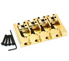 Hipshot Gold/Brass A Series Bass Bridge String Thru Fender P/Jazz® 5A400G-FM2