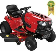 "420cc Automatic Riding Mower 42"" Cutting Deck 18"" Turn Radius Cast Iron Axle"
