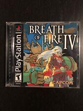 Breath Of Fire IV 4 PS1/PSX (US NTSC)