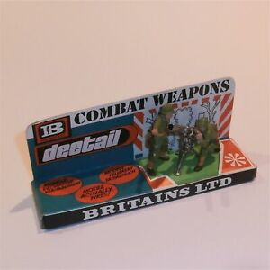 Britains Deetail American Recoilless Rifle Team #7334 Retail Pack