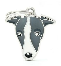 Greyhound Whippet Lurcher - Dog ID Tag (59)- Engraved FREE - Personalised