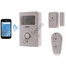 2G gsm téléphone & texte pir batterie alarme & porte sans fil contact (ultrapir)