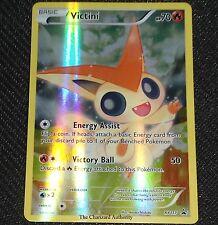 Mythical Victini XY117 FULL ART Black Star HOLO Promo NEAR MINT Pokemon Card