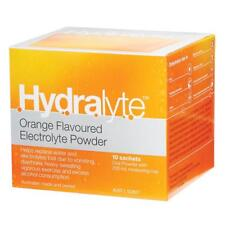 Brand New Hydralyte Electrolyte Powder Orange 10 Sachets x 3 Boxes - Free Post