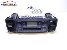 TOYOTA COROLLA E12 02-07 CD RADIO PLAYER NAV HEAD UNIT & AIR VENTS 8612012880