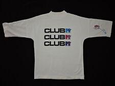 RARE Vtg 80s Club MTV T-shirt Music Video Tour Concert Rock N Roll Rap Pop Band