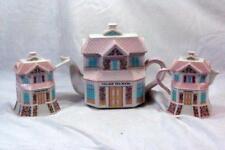 Lenox 2004 The Lenox Village Victorian House Shaped Tea Service