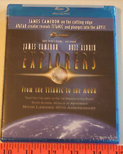 EXPLORERS  From TITANIC To The MOON  James Cameron  Buzz Aldrin  Blu-ray  1 Disc