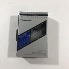 Panasonic Rx-S25 Portable Am/Fm Cassette Player Rare Collectible Clean
