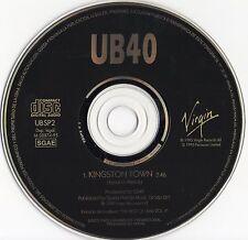 "UB40 ""KINGSTON TOWN"" ULTRA RARE SPANISH PROMO CD / JAMES BROWN - ALI CAMPBELL"