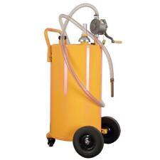 35 Gallon Heavy Duty Gas Caddy Fuel Diesel Dispense Transfer Portable Tank Steel