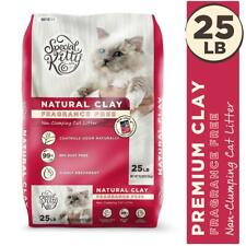 Special Kitty Natural Clay Cat Litter, Unscented,25lb, Odour Control, Dust Free
