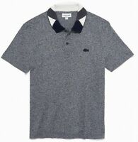 Lacoste Men's Shirt Navy Blue Size 2XL (FR 7) Pique Polo Regular Fit $98 #016