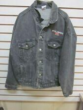 Vintage Polaris Black Denim Jacket Size XL