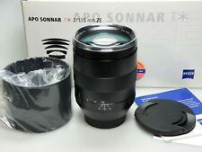 Carl APO Sonnar T* 135mm F2 ZE f. Canon LIKE NEW / WIE NEU