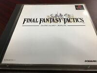 Final Fantasy Tactics Playstation PS1 Japan import w/ Discs & Manual! US Seller!