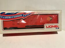 Lionel 64645 Timken Roller Freight ORANGE Boxcar 1971 Glen Uhl MPC Box BRAND NEW