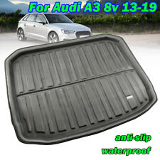 Trunk Mat Cargo Boot Liner Tray For Audi A3 S3 RS3 8v Sportback Hatchback 13 -18