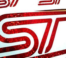 Ford Focus ST Fiesta SPARKLY EFFECT Vinyl Sticker Kit Mondeo ST Graphics Decals