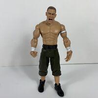 JOHN CENA Jakks WWE Wrestling Figure 2003 Green Jean Shorts/Camo Wristbands