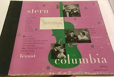 """ISAAC STERN / OSCAR LEVANT """"Humoresque"""" 1946 COLUMBIA M-657 >N- 4x12""""- 78rpm SET"""