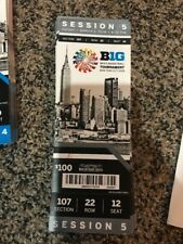 2018 BIG TEN TOURNAMENT TICKET STUB SESSION 5 BASKETBALL PSU OSU PUR RUT at MSG