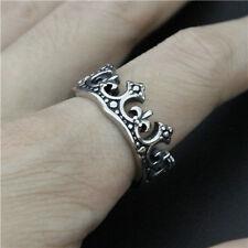 Fleur De Lis Crown Ring Size 11