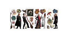 HARRY POTTER 30 Peel & Stick Wall Decals Ron Hermoine Wall Stickers NEW