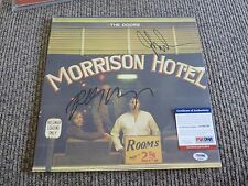 The Doors John Densmore Robby Krieger Signed Autographed LP PSA Certified #1