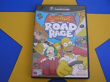 THE SIMPSONS ROAD RAGE - GAMECUBE - Wii Compatible
