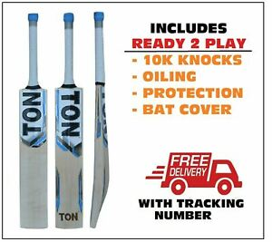 TON ELITE English Willow Cricket Bat SENIOR+AU Stock + $150 Extra(Ready to play)