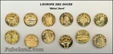Feves Anciennes L'EUROPE DES 12    Métal Doré   HG368