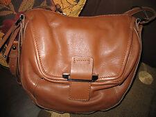 NWT  Kooba  Gary  Leather Cross Body Bag  CARAMEL